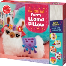 Sew Your Own Furry Llama Pillow, Mixed media product Book