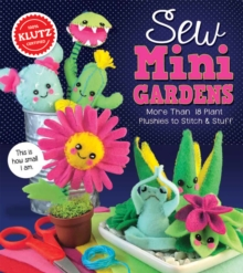 Sew Mini Garden, Mixed media product Book