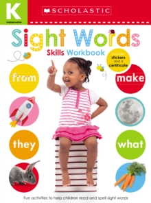 Kindergarten Skills Workbook: Sight Words (Scholastic Early Learners), Paperback Book