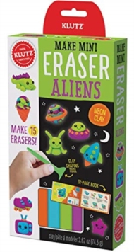 MAKE MINI ERASER ALIENS, Paperback Book