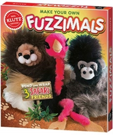FUZZIMALS SAFARI, Paperback Book