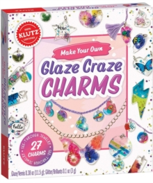 Make Your Own Glaze Craze Charms, Mixed media product Book