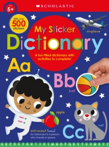 My Sticker Dictionary: Scholastic Early Learners (Sticker Book), Paperback Book