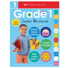 First Grade Jumbo Workbook: Scholastic Early Learners (Jumbo Workbook), Paperback Book