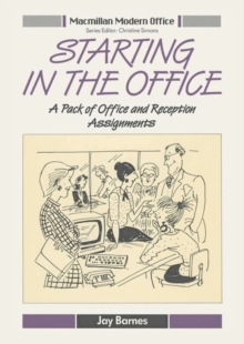 Starting in the Office : A Pack of Office and Reception Assignments, PDF eBook