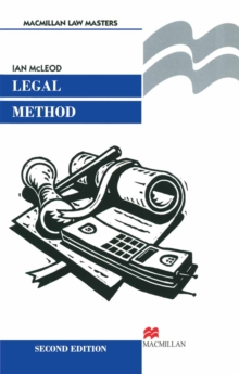 Legal Method, PDF eBook