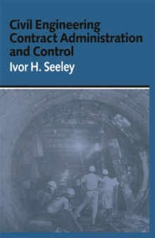 Civil Engineering Contract Administration and Control, PDF eBook
