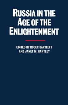 Russia in the Age of the Enlightenment : Essays for Isabel de Madariaga, PDF eBook