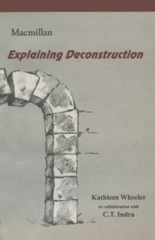 Explaining Deconstruction, PDF eBook