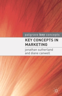 Key Concepts in Marketing (CIC Edn), PDF eBook