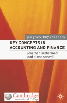 Key Concepts in Accounting and Finance (CIC Edn), PDF eBook