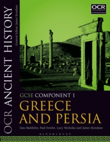 OCR Ancient History GCSE Component 1 : Greece and Persia, Paperback Book