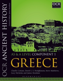 OCR Ancient History AS and A Level Component 1 : Greece, Paperback / softback Book