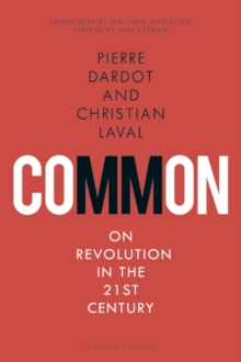 Common : On Revolution in the 21st Century, Paperback / softback Book