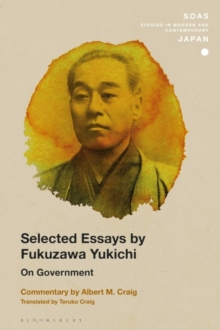 Selected Essays by Fukuzawa Yukichi : On Government, PDF eBook
