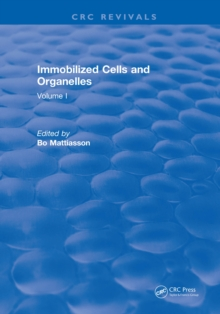 Immobilized Cells and Organelles : Volume I, PDF eBook