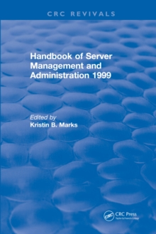 Handbook of Server Management and Administration : 1999, EPUB eBook