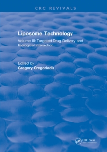 Liposome Technology : Volume III: Targeted Drug Delivery and Biological Interaction, EPUB eBook