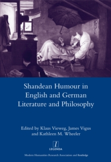 Shandean Humour in English and German Literature and Philosophy, EPUB eBook