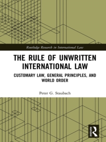 the rules of international law He international rule of law hinges on the existence of a shared lexicon accepted by states and other actors in the international system moreover, even when there is substantial international consen-sus on the meaning of key concepts, the rule of law can be undermined—as in the case of us.