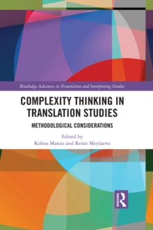Complexity Thinking in Translation Studies : Methodological Considerations, EPUB eBook