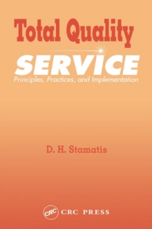 Total Quality Service : Principles, Practices, and Implementation, EPUB eBook
