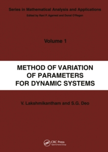 Method of Variation of Parameters for Dynamic Systems, EPUB eBook