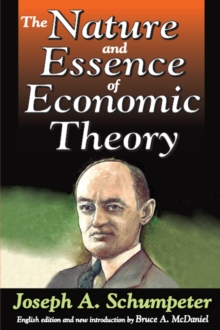 The Nature and Essence of Economic Theory, EPUB eBook