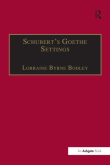 Schubert's Goethe Settings, PDF eBook