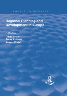 Regional Planning and Development in Europe, EPUB eBook