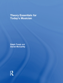 Theory Essentials for Today's Musician (Textbook), PDF eBook