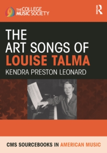 The Art Songs of Louise Talma, PDF eBook