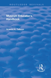 Museum Educator's Handbook, PDF eBook