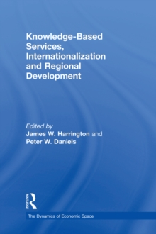 Knowledge-Based Services, Internationalization and Regional Development, PDF eBook