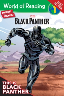 World Of Reading: Black Panther : This is Black Panther (Level 1), Paperback Book