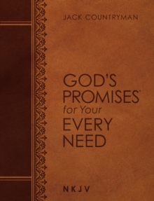 God's Promises for Your Every Need NKJV (Large Text Leathersoft), Leather / fine binding Book