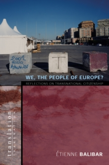 We, the People of Europe? : Reflections on Transnational Citizenship, EPUB eBook