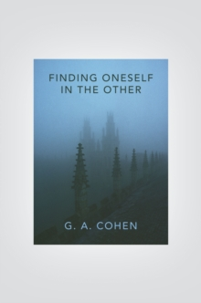 Finding Oneself in the Other, EPUB eBook