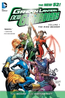 Green Lantern New Guardians Volume 1: The Ring Bearer TP (The New 52), Paperback Book