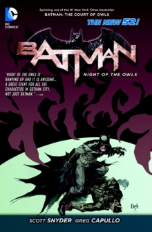 Batman Night of the Owls TP (The New 52), Paperback Book