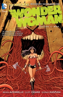 Wonder Woman Vol. 4 War (The New 52), Paperback / softback Book