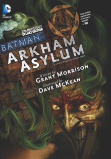 Batman Arkham Asylum 25th Anniversary Deluxe Edition HC, Hardback Book