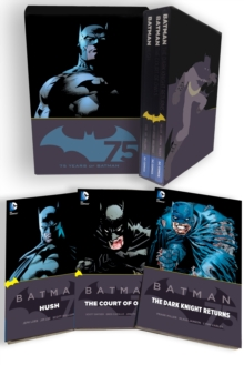 Batman 75Th Anniversary Box Set, Hardback Book