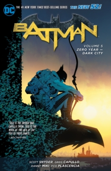 Batman Vol. 5 Zero Year - Dark City (The New 52), Paperback Book
