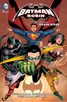 Batman and Robin TP Vol 7 Robin Rises, Paperback Book