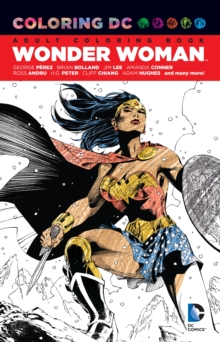 Coloring Dc Wonder Woman, Paperback Book