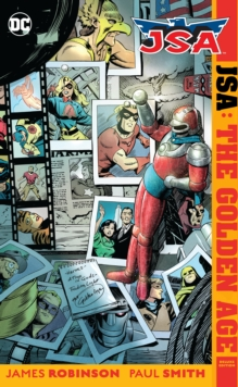 JSA The Golden Age Deluxe Edition, Hardback Book