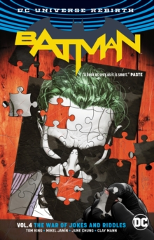 Batman Vol. 4 The War Of Jokes And Riddles (Rebirth), Paperback Book