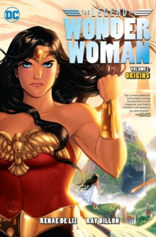 The Legend Of Wonder Woman Origins, Paperback Book