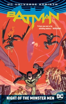 Batman Night Of The Monster Men (Rebirth), Paperback Book